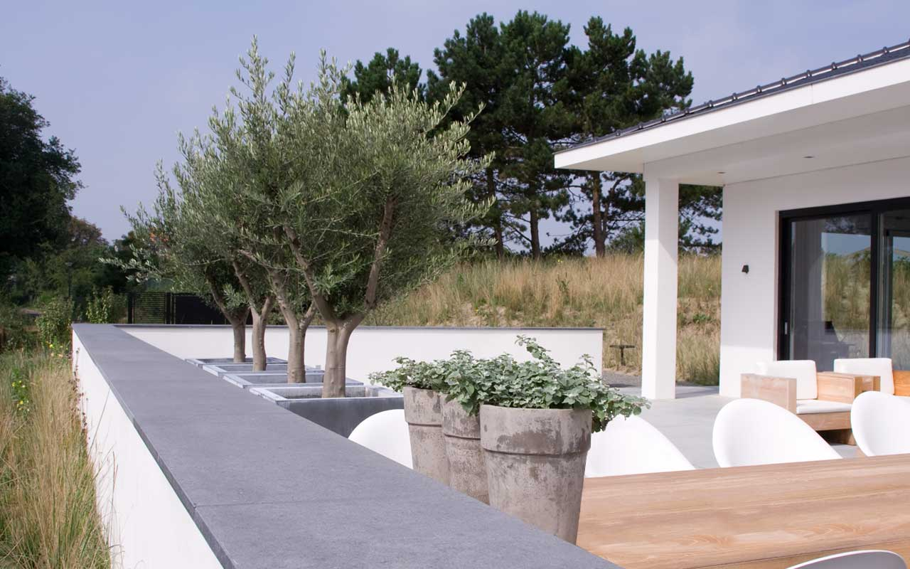 Moderne duintuin te schiermonnikoog i martin veltkamp tuinen for Tuinontwerp boek