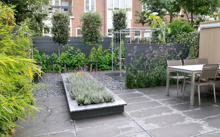 Stadstuinen ontworpen aangelegd door martin veltkamp tuinen for Stadstuinen voorbeelden