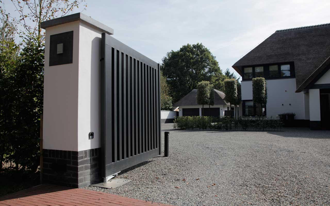 Parkeren In Voortuin : Villa tuin in blaricum ontworpen en aangelegd door martin veltkamp